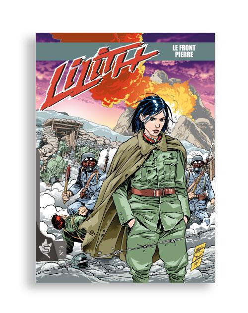 Lilith N°3 - Le front de pierre